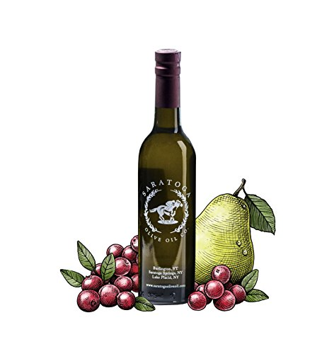 Saratoga Olive Oil Company Cranberry Pear White Balsamic Vinegar (200ml)