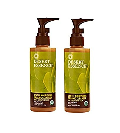 Desert Essence, Gentle Nourishing Organic Cleanser, 6.7 fl oz (pack of 1) Ca-Rezz Incontinent Skin Care Cream 1 Count, 9-2/3 oz