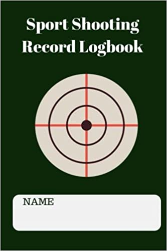 amazon sport shooting record logbook this notebook journal blank