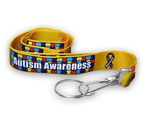 Autism Ribbon Lanyard (1 Lanyard - Retail)]()