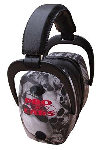 Pro-Ears Pro 300 w/ Pro Mag Earmuffs - Internet Box, Skulls by Pro Ears
