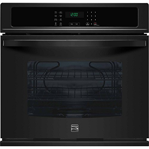 Kenmore 49429 30″ Electric Single Wall Oven with Select Clean in Black, includes delivery and hookup (Available in select cities only)