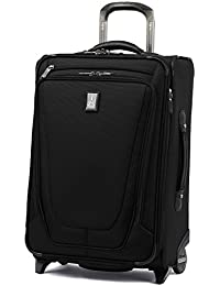 "Luggage Crew 11 22"" Carry-on Expandable Rollaboard w/Suiter and USB Port, Black"