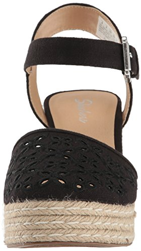 Sandalias Skechers Cali para Mujer, Turtledove, Negro