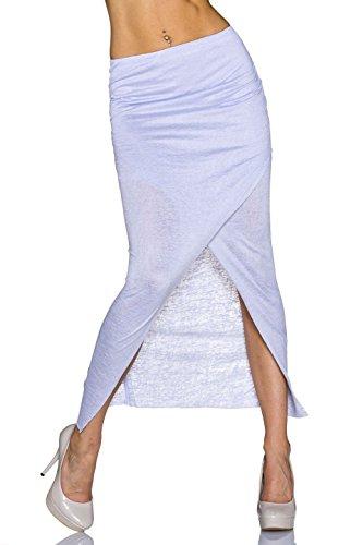 Flamant Rose - Falda - para mujer azul claro