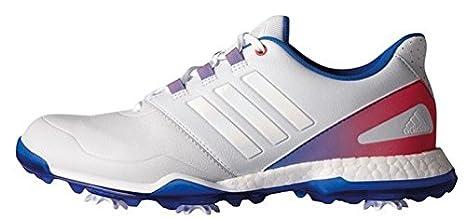 buy popular 1190e 7d1dc adidas Damen Adipower Boost Golfschuhe, Mehrfarbig (GrisAzul  Rosa), 34