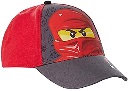 Lego Ninjago Kai Red Ninja Face Kids Cap: Amazon.es: Ropa y ...