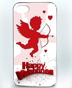 Happy Valentines Cupid iPhone 4/4s case