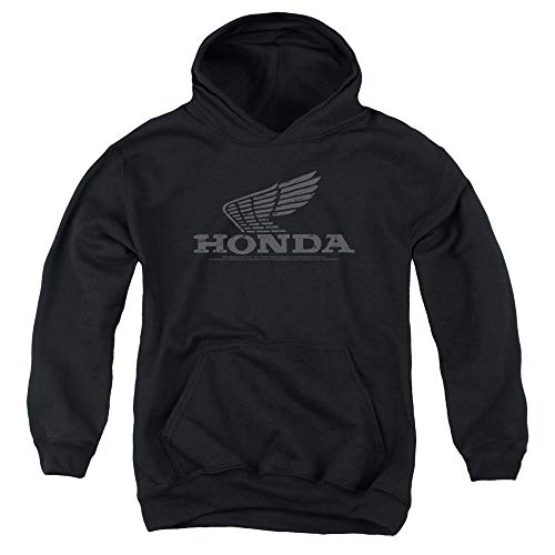 Honda Vintage Wing Unisex Youth Pull-Over Hoodie for Boys and Girls, Large