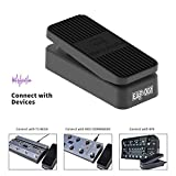 MeloAudio EXP-001 Volume Expression Wah Bass Guitar Effects Pedal with Instrument Cable