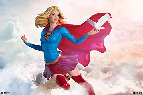 41mk45lnFCL Sideshow DC Comics Supergirl Premium Format Figure Statue by Stanley 'Artgerm' Lau