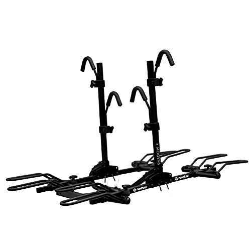 Nashbar Shadow 4-Bike Hitch Rack