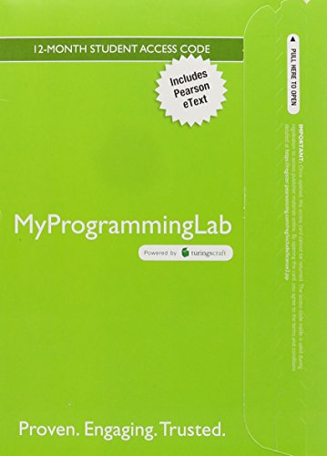 MyLab Programming with Pearson eText -- Access Card -- for Introduction to Computing and Programming in Python (My Programming Lab) by Pearson