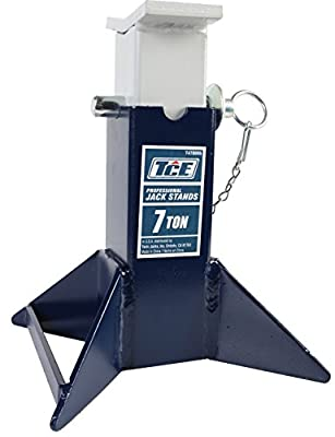 TCE TCE47000 7 Ton Vehicle Support Stand, 1 Pack