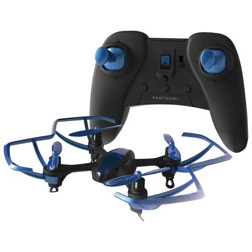 Protocol Slipstream 4 Channel Mini Remote Control Helicopter Blue O/S