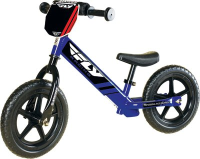 Fly Racing Deluxe Strider Balance Bike, Blue by Fly Racing