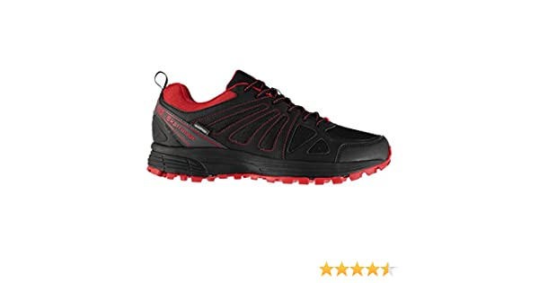 Karrimor Hombre Caracal Zapatillas Impermeable Trail Running Negro ...
