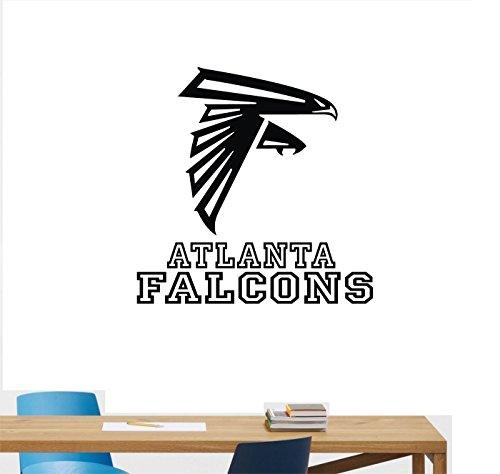 Atlanta Falcons Logo Sport Room Decor Original Unique Wall Art Man Cave vinyl wall decal sticker