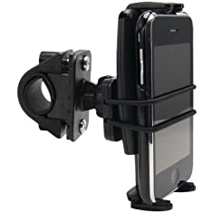 Arkon Slim-Grip Ultra Bike Motorcycle Phone Mount for iPhone 6S Plus 6 SE Galaxy S7 EDGE S6 Note 5 Smartphone - Black