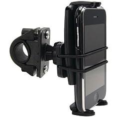 Arkon Slim-Grip Ultra Bike Motorcycle Phone Mount for iPhone 6S Plus 6 SE Galaxy S7 EDGE S6 Note 5 Smartphone - Black
