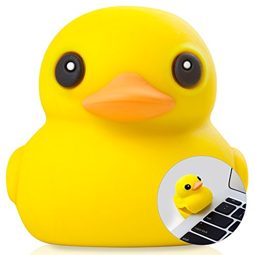 Bone Collection 16GB USB 3.0 Flash Drive Thumb Drive Novelty Cute Cartoon Character Design - Retail Packaging - Yellow Patti Duck ()