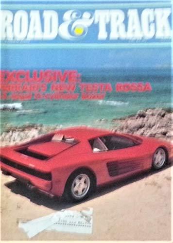 Road & Track  December 1984   Ferrari's New Testa Rossa Cover