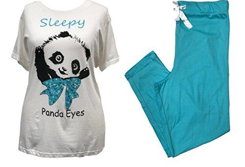 Panda pezzi holidaysuitcase due Donna Pigiama wnZBv