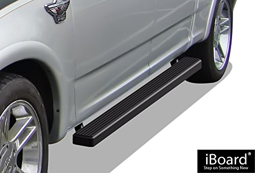 APS IB-F4009B Matte Black iBoard Bolt Over for select Ford F-150 Models