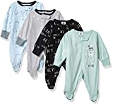 Unknown baby boys 4 Pack N' Play Footie and Toddler Sleepers, Bear, 6-9 Months US