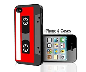 Red Cassette iPhone 4/4s case