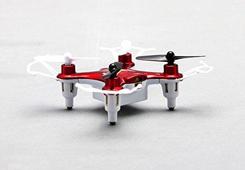 Fentac Syma X12S mini Nano 6-Axis Gyro 4 Channel 2.4G Transmitter RC Quadcopter RTF 3D 360° Helicopter (Red)