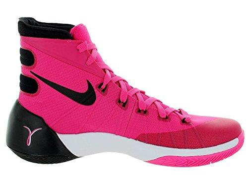 Hyperdunk 2015 Basketballschuh Vivid rosa / pink Pow / wei� / schwarz Grö�e 13 M Us