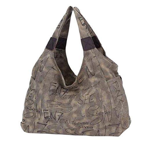 Weinleseart Schulter-Beutel-Handtaschen-haltbare praktische Segeltuch-Beutel-M?dchen, F