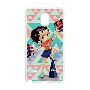 Betty Boop Samsung Galaxy Note 4 Cell Phone Case White D1S4TY