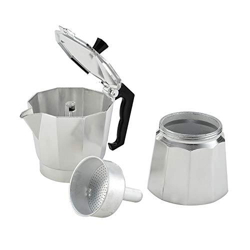 Acquisto Moka Espresso Caffettiera caffettiera Caffettiera Caffettiera in alluminio,300ml Prezzi offerta