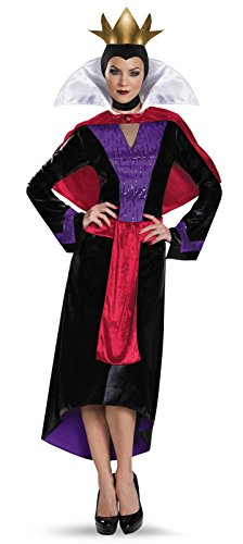 Disguise Women's Evil Queen Deluxe Adult Costume, Multi, Small
