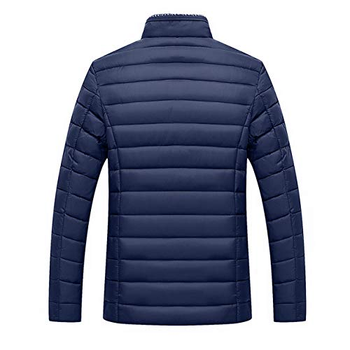 Coton Marine D'hiver Col Homme Outwear Veste Velours Manches Bellelove En Manteaux Soild Stand Manteau Zip Coats Longues Fit 8ngB6qBT