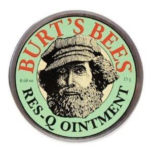 Burt Bees Onguent Res-Q, .6 onces (Pack de 3)
