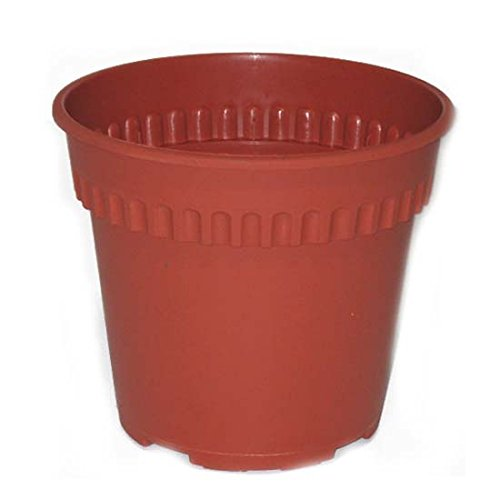 Plastic Garden Planter 10.23in, Case of 48 by DollarItemDirect