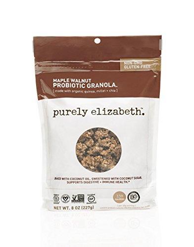 purely elizabeth Probiotic Gluten-Free Granola, Maple Walnut, 0.5 Pound