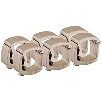 API AC101 Mounting Cl&s for Truck Caps / C&er Shells (6 Pack)  sc 1 st  Amazon.com & Amazon.com: API AC101 Mounting Clamps for Truck Caps / Camper Shells ...
