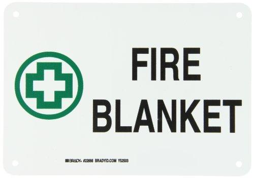 Brady 22666 Plastic First Aid Sign, 7