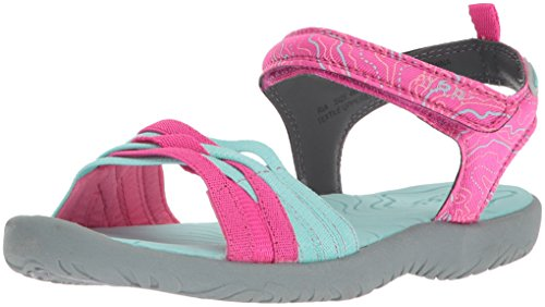 Price comparison product image M.A.P. Girls' Ria Outdoor Sport Sandal, Fuchsia, 1 M US Little Kid