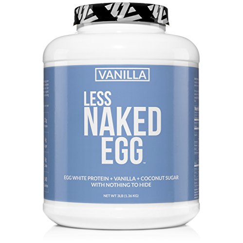 Vanilla Less Naked Egg Protein Powder