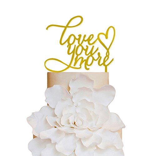 Sugar-Yeti-Brand-Made-in-USA-Cake-Toppers-Love-You-More-Heart-Wedding-Cake-Toppers-Wedding-Decoration-Acrylic-Cake-Topper-for-Special-Events