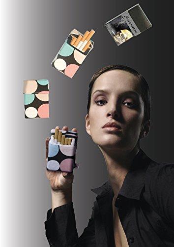 Cigarette 100 Case À Darkness Étui Élégant Mm Pour Revêtement Longue Cigarettes Smokeshirt Club qZwv0XXF