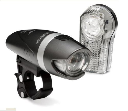 Planet Bike Blaze 1-Watt Headlight and Superflash Taillight Combination Bicycle Light Set Review