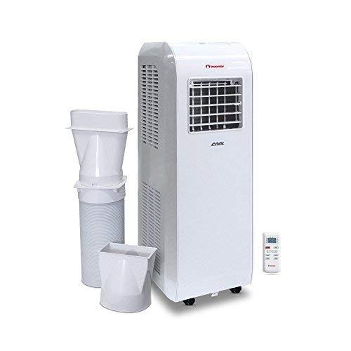 Inventor Cool 8.000 Btu/h Climatiseur Portable 2-en-1 Refroidissement & Capacité de Déshumidification [Classe énergétique A]