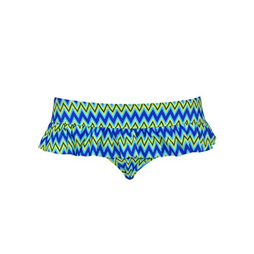 Curvy Kate Women's Shockwave Skirted Bikini Bottom, Elec, 12