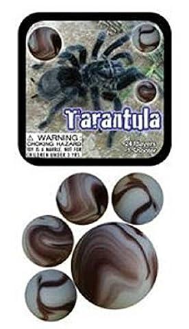 Tarantula Game Net Set 25 Piece Glass Mega Marbles - Playing Marbles